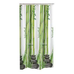 rideau de douche textile bambous 180*200cm - douceur d'interieur