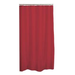 Rideau douche peva  180x200cm - douceur d'interieur - theme vitamine Rouge