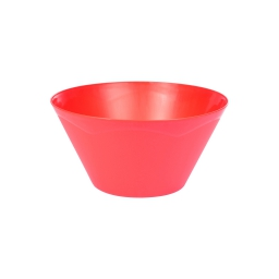 saladier conique 3.3l ø25*h13cm - rouge