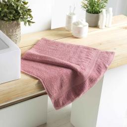 Serviette de toilette 50 x 90 cm eponge 500 grammes colors Dragee