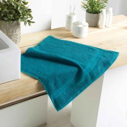 Serviette de toilette 50 x 90 cm eponge 500 grammes colors Emeraude