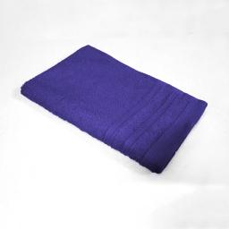 Serviette invite 30 x 50 cm eponge unie vitamine Bleu