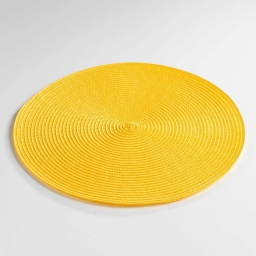 Set de table (0) 35 cm polypropylene zebulon Jaune