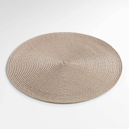 Set de table (0) 35 cm polypropylene zebulon Taupe