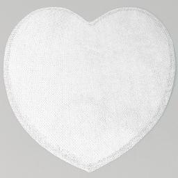 Set de table (0) 38 cm fibre papier coeur Blanc
