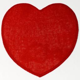 Set de table (0) 38 cm fibre papier coeur Rouge