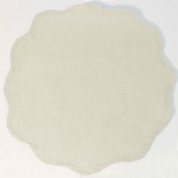 Set de table (0) 38 cm fibre papier fleur Naturel