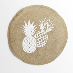 set de table (0) 38 cm jute imprime ananas spirit