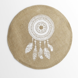 set de table (0) 38 cm jute imprime indila