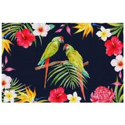 Set de table 28.5 x 43.5 cm pvc imprime tropicoco Prune