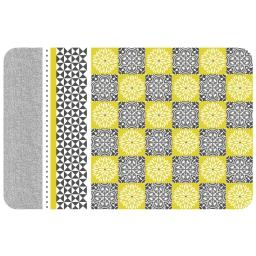 set de table 28.5 x 44 cm polypropylene opaque amarella