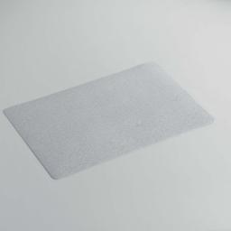 Set de table 28.5 x 44 cm pvc uni paillettes midnight Gris