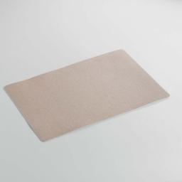 Set de table 28.5 x 44 cm pvc uni paillettes midnight Or