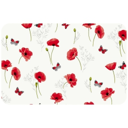 set de table 30 x 44 cm pvc imprime poppyly