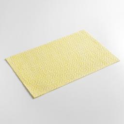 Set de table 30 x 45 cm fibre papier losamo Jaune