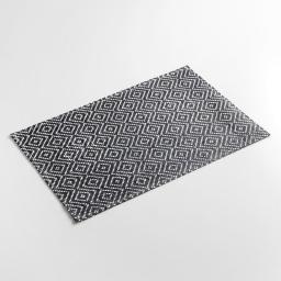 Set de table 30 x 45 cm fibre papier losamo Noir