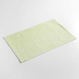 Set de table 30 x 45 cm fibre papier losamo Vert
