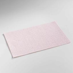 Set de table 30 x 45 cm fibre papier metrix Corail