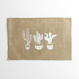 set de table 30 x 45 cm jute imprime mexico
