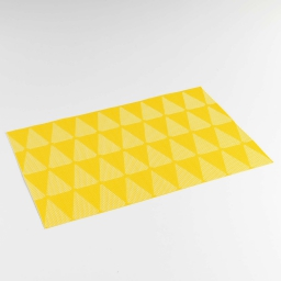 Set de table 30 x 45 cm pvc bicolore takea Jaune