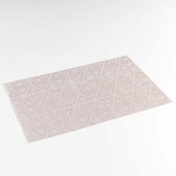 Set de table 30 x 45 cm pvc bicolore trigone Taupe