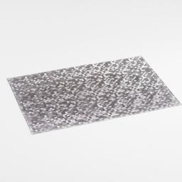 Set de table 30 x 45 cm pvc domino Argent