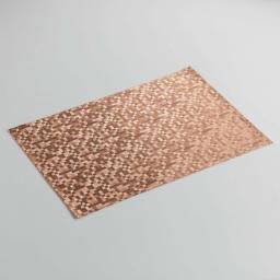 Set de table 30 x 45 cm pvc domino Cuivre