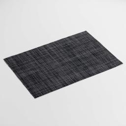 Set de table 30 x 45 cm pvc punto Noir