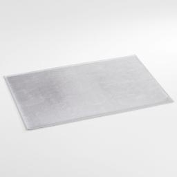 Set de table 30 x 45 cm pvc uno Argent