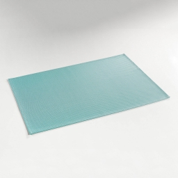Set de table 32 x 47 cm pvc silky Bleu