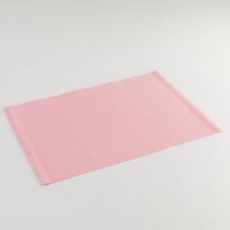 Set de table 33 x 45 cm coton uni delicia Rose