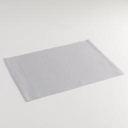 Set de table 33 x 45 cm coton uni epicurien Gris