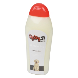 shampooing pour chien a poils clairs - 350ml