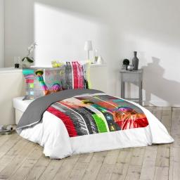 so parure 3 p. 200 x 200 cm imprime 42 fils dessin place colored usa