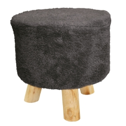 Tabouret (0) 32 cm x ht 36 cm sherpa everest Anthracite