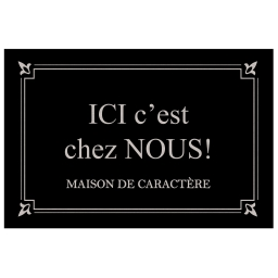 tapis d'entree rectangle 40 x 60 cm photoprint maison de caractere