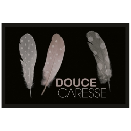 tapis d'entree rectangle 40 x 60 cm photoprint plumista