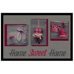 tapis d'entree rectangle 40 x 60 cm photoprint sweet winter