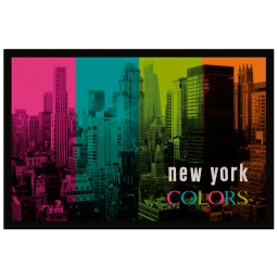 tapis d'entree rectangle 40 x 60 cm photoprint us colors