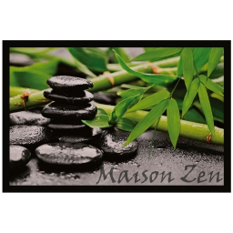 tapis d'entree rectangle 40 x 60 cm photoprint yang