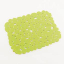 Tapis d'evier confectionne 30 x 26 cm pvc uni protect Anis