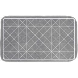 tapis de bain 45 x 75 cm microfibre imprimee kubia des. place