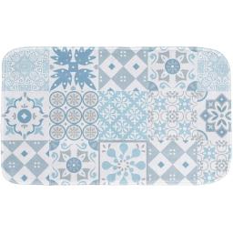 tapis de bain 45 x 75 cm microfibre imprimee lagos des. place