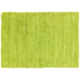Tapis de bain 50 x 70 cm coton uni essencia Anis