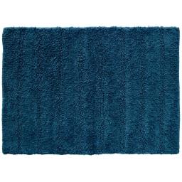 Tapis de bain 50 x 70 cm coton uni essencia Bleu nuit