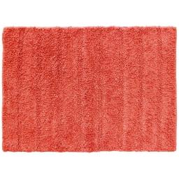 Tapis de bain 50 x 70 cm coton uni essencia Corail