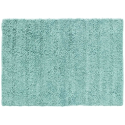 Tapis de bain 50 x 70 cm coton uni essencia Menthe