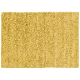 Tapis de bain 50 x 70 cm coton uni essencia Miel