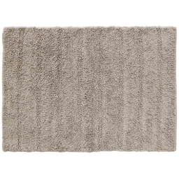 Tapis de bain 50 x 70 cm coton uni essencia Taupe