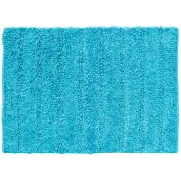 Tapis de bain 50 x 70 cm coton uni essencia Turquoise